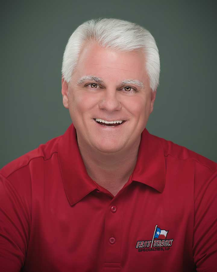 Brian Warren, Fast Track Specialties Team Member