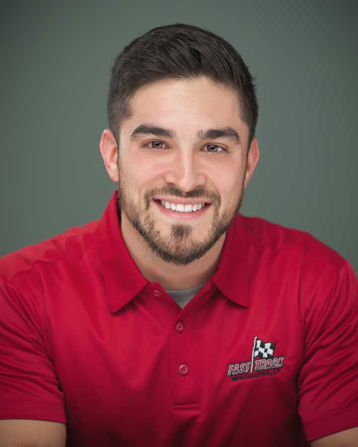 Justin Rodriguez, Fast Track Specialties Team Member